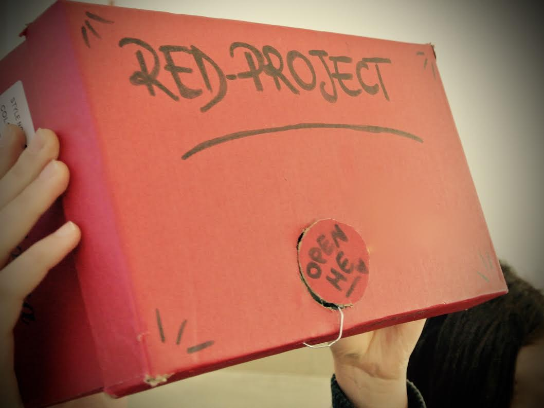 "proiettore "" Red Project"""